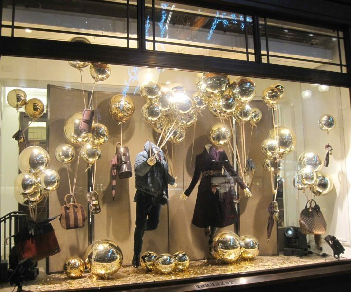 Christmas Windows 2012 Luxury Clothing Ispira Blog