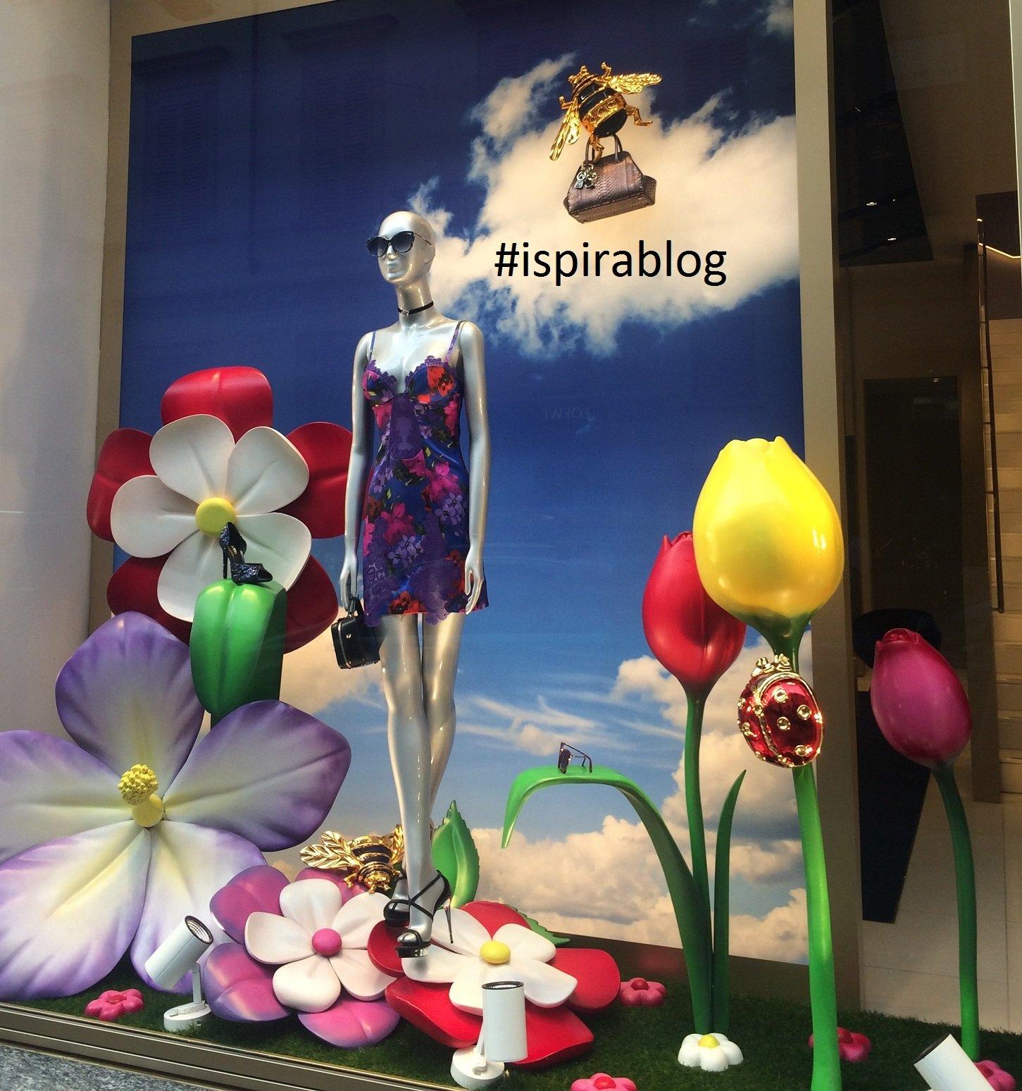 ... La Perla - Milan - Summer 2017 - Womenswear Collection - blue short dress with black sandals and small handbag 2017-07-19 ...