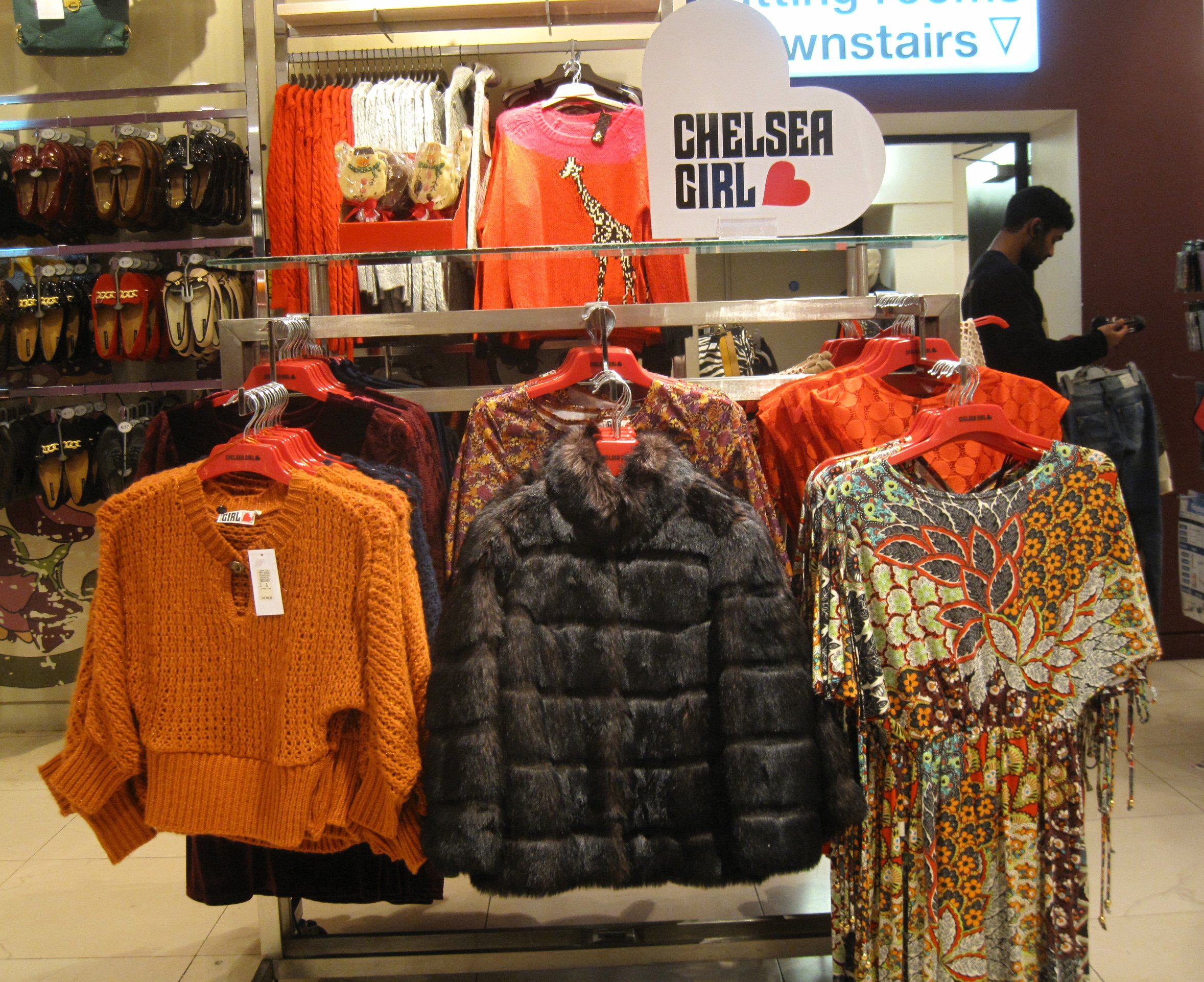 Chelsea girl clothing store