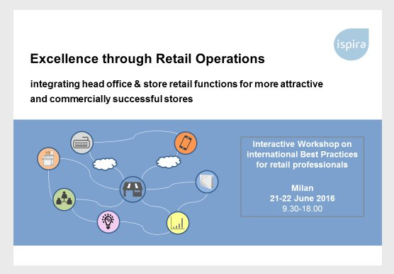 Excellence through Retail Operations- Workshop - Ispira Ltd