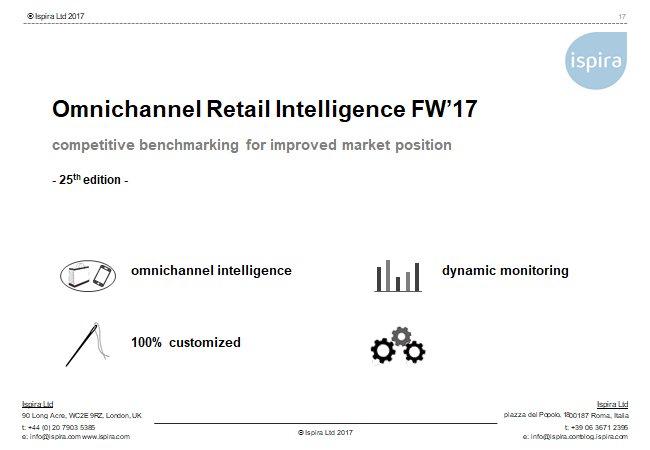 Omnichannel Retail Intellgeince FW17
