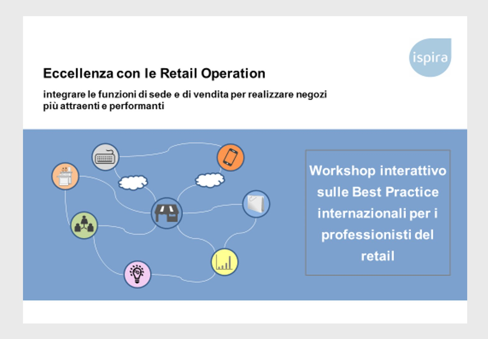 Eccellenza con le Retail Operation - Ispira Ltd