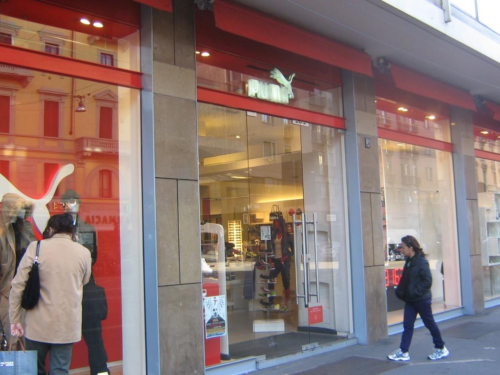 negozio puma milano corso buenos aires