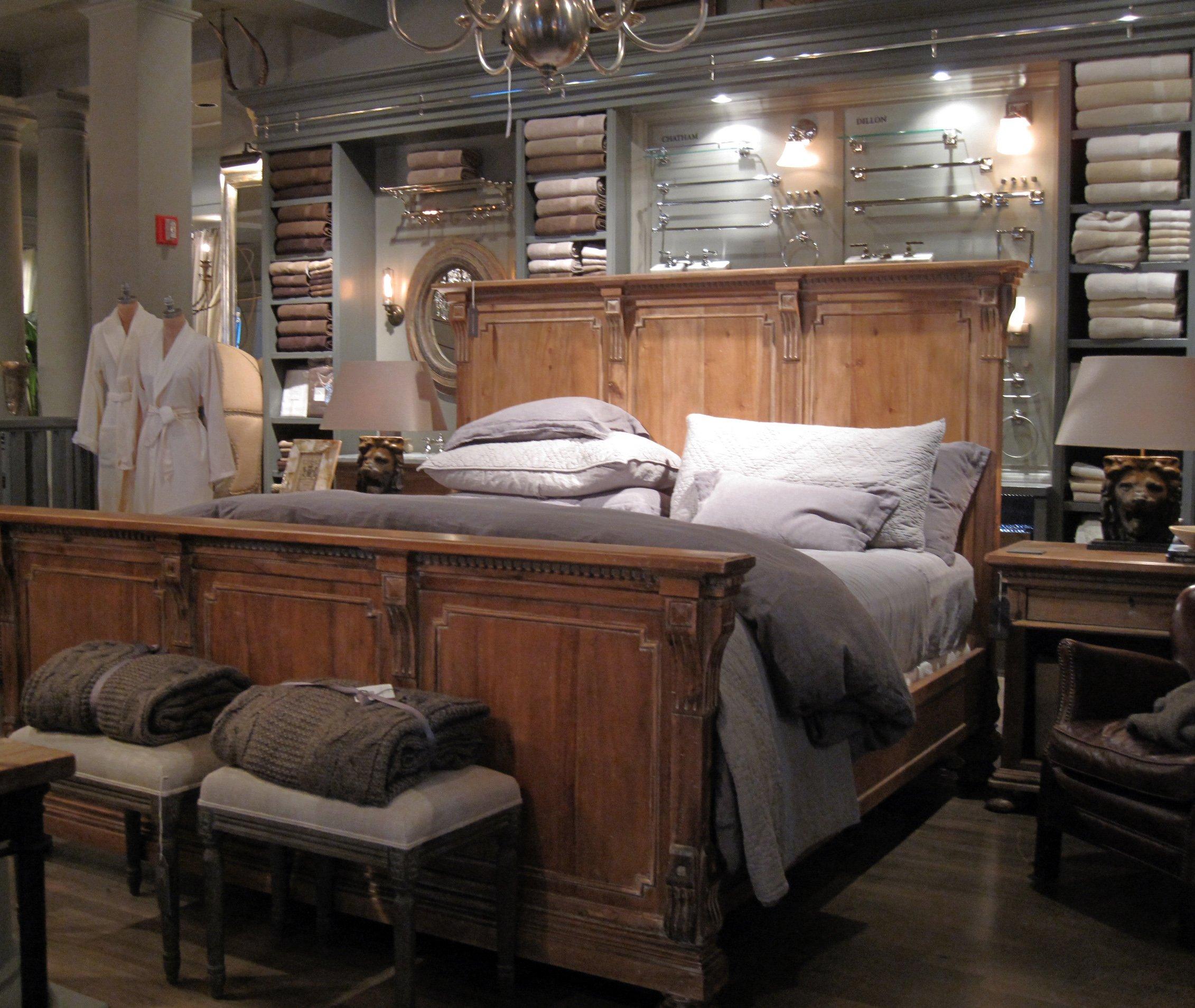 Restoration hardware bedroom furniture -  Estoration Hardware Bedroom Furniture Mia Upholstered Bed