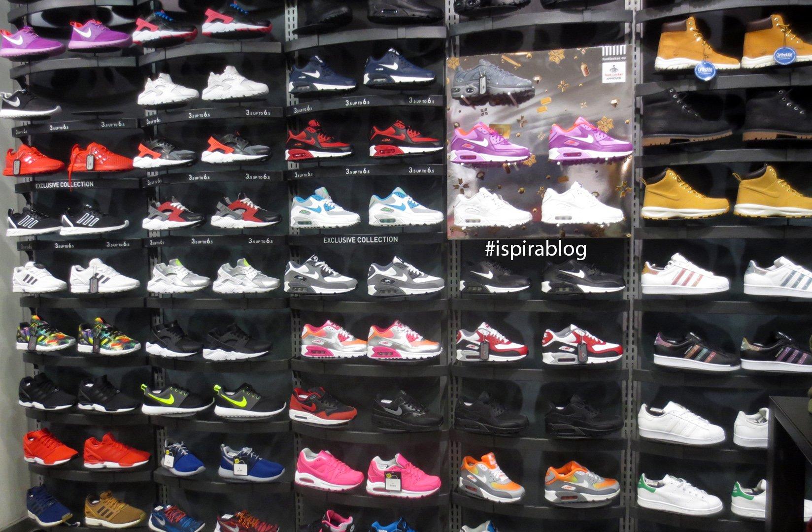 Foot Locker Shoes Size