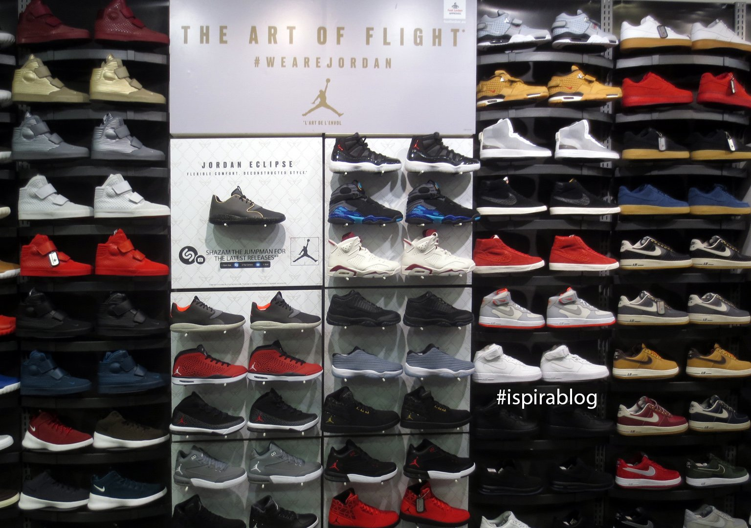 foot locker jordan flight